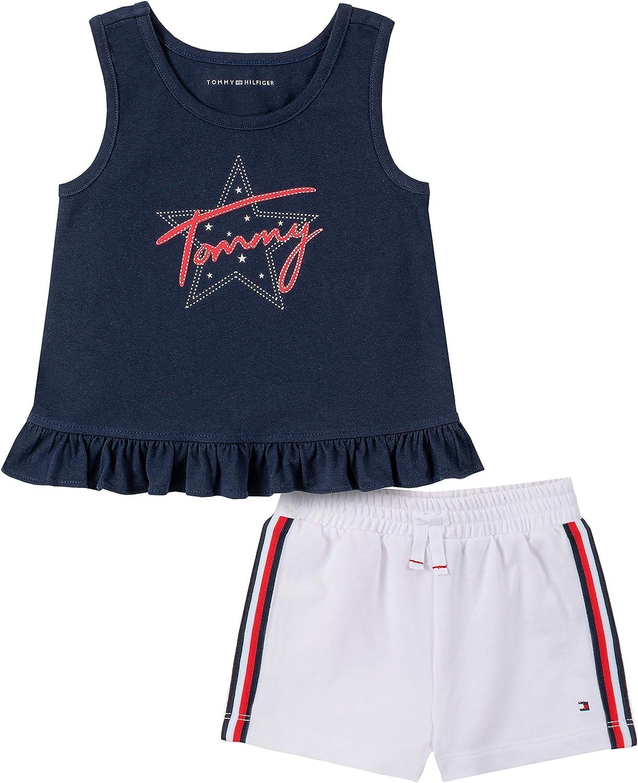Tommy Hilfiger Girls 2 Pieces Shorts Set