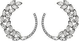 Runway Navette Pave P Earrings