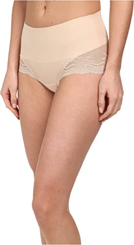 61636afe320 Spanx. Plus Size Spotlight On Lace Brief.  42.00. Undie-tectable Lace  Hi-Hipster Panty