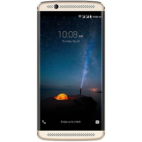 ZTE Axon 7 Mini Smartphone débloqué 4G [Import Allemagne](Ecran:5,2 pouces - 32 Go - Double Nano SIM - Android 6.0) Or