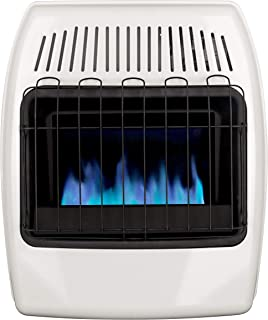 Dyna-Glo 20,000 BTU Liquid Propane Blue Flame Vent Free Wall Heater, White