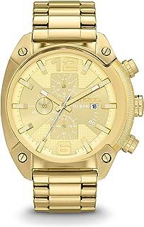 Men's Overflow Stainless Steel Chronograph Quartz Watch