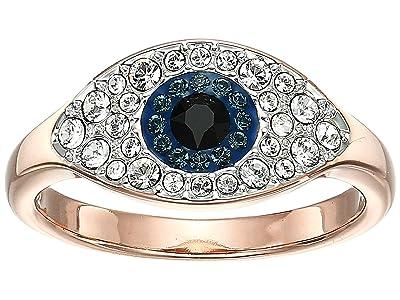 Swarovski Duo Evil Eye Ring (Dark Multi) Ring