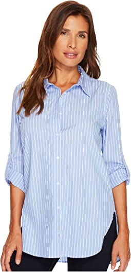 Calvin Klein - Striped Boyfriend Top