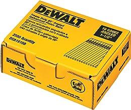 DEWALT Finish Nails, 20-Degree, 1-1/2-Inch, 16GA, 2000-Pack (DCA16150)