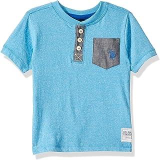 U.S. Polo Assn. Boys' Short Sleeve Henley T-Shirt
