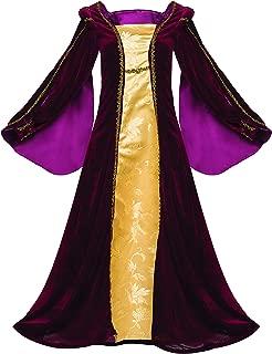 Game of Thrones Tudor Dress Renaissance Ren Faire Costume Royal Gown Velvet Plus Size Layered Luxury