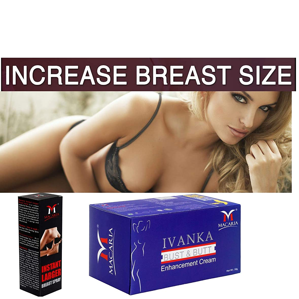 下に役に立たない哀れなBREAST CREAM + SPRAY ENLARGMENT FOR GIRLS