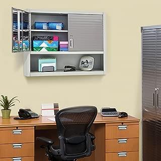 Seville Classics UltraHD Wall Cabinet with Open Shelf (Granite)