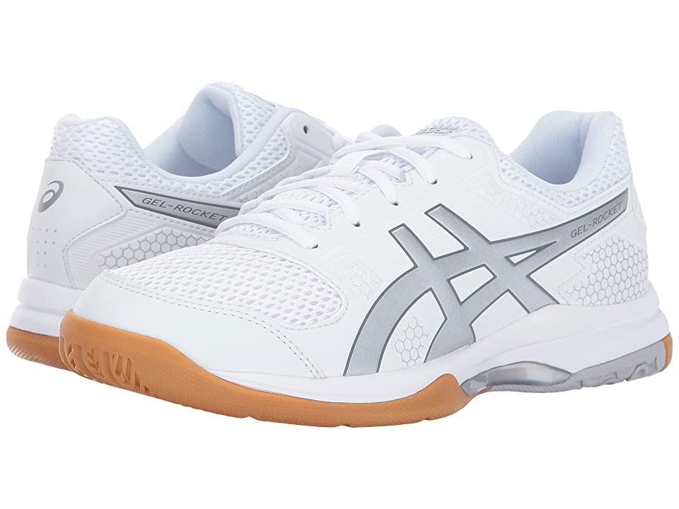 ASICS Gel-Rocket 8 (White/Silver/White) Women