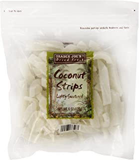 Trader Joe's Lightly Sweetened Coconut Strips, 6 oz