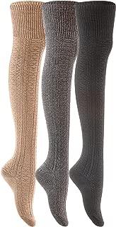 organic knee socks