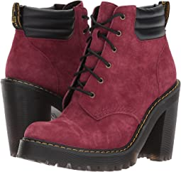 Persephone 6-Eye Padded Collar Boot