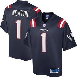 NFL PRO LINE Men's Cam Newton Navy New England Patriots Team Player Jersey