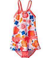 Seafolly Kids - Vintage Pop Skirted Tank Top (Infant/Toddler/Little Kids)