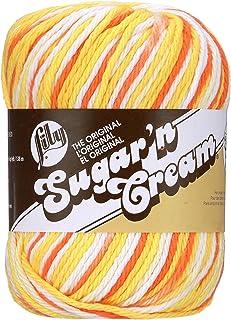 Lily Sugar'n Cream Super Size Ombres Yarn, 3 oz, Creamsicle, 1 Ball