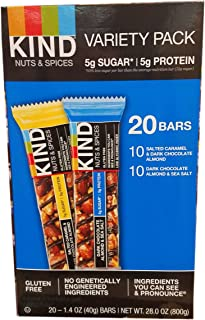 Kind Nut And Spices Bar Variety Pack, 20 Count