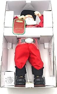 Singing Hip-Swingin' Holly Jolly Rock Santa Cowboy