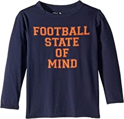 Super Soft Football State Of Mind Long Sleeve Tee (Little Kids/Big Kids)