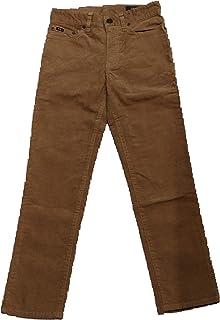 Polo Ralph Lauren -5 PKT Pant BT PNT - Pantalon Largo Marron NIÑO