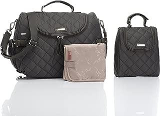 Storksak Poppy Convertible Backpack Diaper Bag, Charcoal