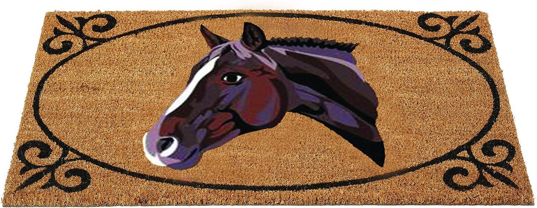 Horse Portrait Coir Doormat by Gardman by Gardman