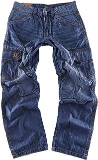 Timezone BenitoTZ 3131 Men's Relaxed Trousers Denim Cargo Pants