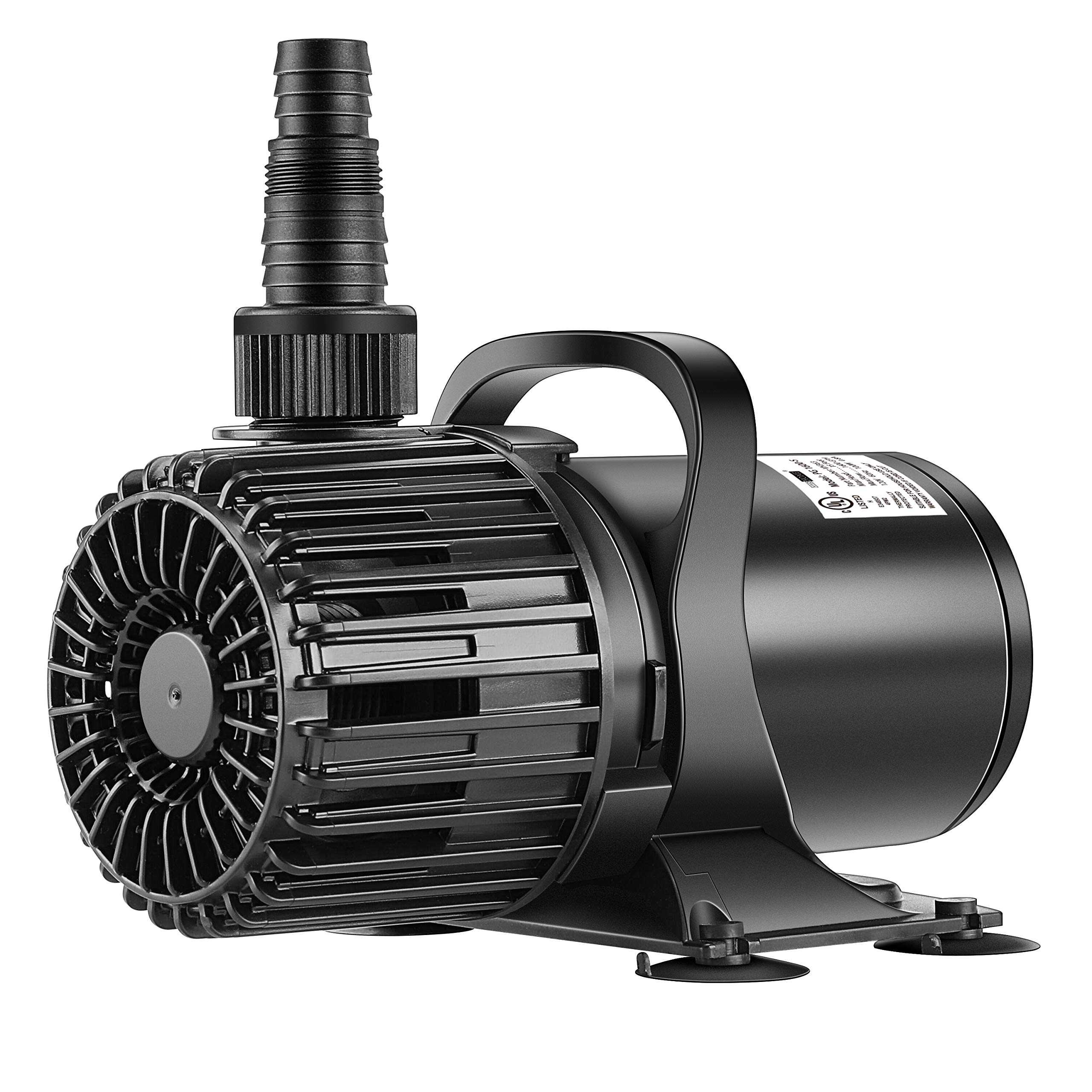 VIVOHOME Electric 220W 4500GPH Submersible Water Pump for Koi Pond Pool Waterfall Fountains Fish Tank and Aquarium