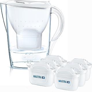 BRITA 碧然德 Marella Cool滤水壶 包含滤芯(半年装),白色