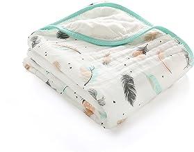 Babydecken Musselin Stoff 47X47 Weiche Musselin Bambus Baumwolle Wickeldecke F/ür Jungen M/ädchen-Obst