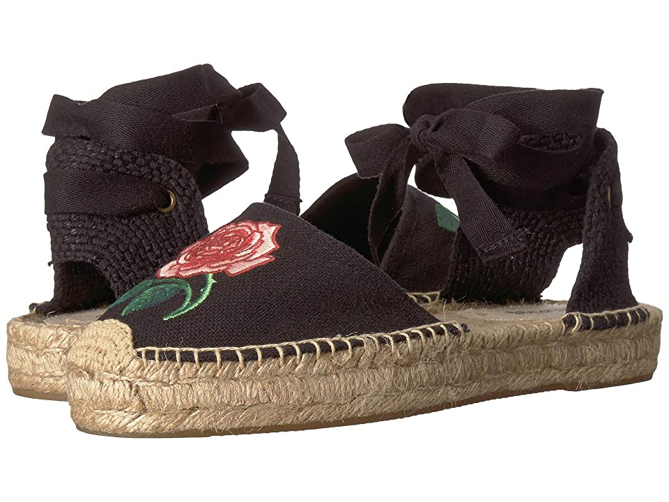 Soludos Vogue Exclusive Sandal (Black) Women