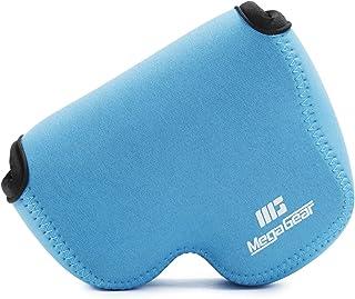 MegaGear Nikon Coolpix B500 Ultraleichte Kameratasche aus Neopren mit Karabiner Haken blau