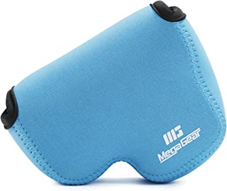 MegaGear ''Ultra Light'' Neoprene Camera Case Bag with Carabiner for Nikon COOLPIX B500 Digital Camera (Blue)