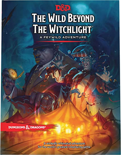 Amazon.com: The Wild Beyond the Witchlight: A Feywild Adventure (Dungeons &  Dragons Book) (9780786967278): Wizards RPG Team: Books