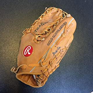 Bobby Bonilla Signed Game Used Rawlings Baseball Glove With COA - JSA Certified - Autographed MLB Gloves