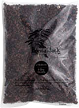 Bonsai Jack - Red/Maroon 1/4 inch Horticultural Lava Rock Soil Additive for Cacti, Succulents, Plants - No Dyes or Chemicals - 100% Pure Volcanic Rock (2 Gallons)