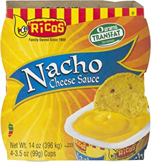 PACK OF 12 - Ricos Nacho Cheese Sauce Cups - 4 CT