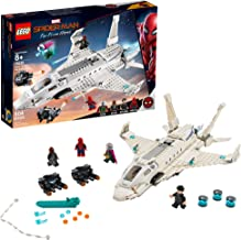 LEGO Marvel Spider-Man Far From Home: Stark Jet and the Drone Attack 76130 Building Kit, New 2019 (504 Pieces)