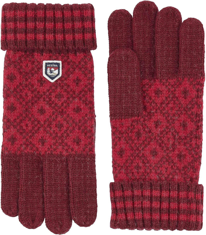 Hestra Fryken Glove - Women's, Dark red/Red, 9, 63780-570560-09