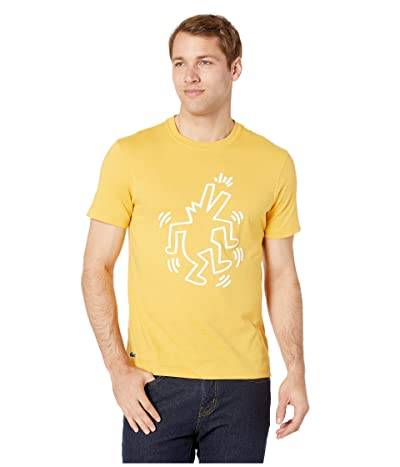 Lacoste Keith Haring Printed Jersey T-Shirt (Physalis) Men