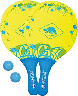 Schildkroet-Funsports Unisex's Neoprene Beach Ball Set, Multi-Colour, Small