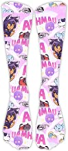 YouTube Aphmau Black And White Print Casual Long Socks For Both Of Men & Women