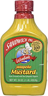 Woeber Mustard Sndwch Pal Jalapeno (2 Pack)