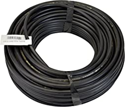 Raindrip 018005P 1/4-Inch by 50-Feet Black Laser Drilled Soaker Hose Tubing