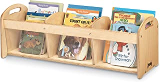 Jonti-Craft Toddler See-Thru Book Browser