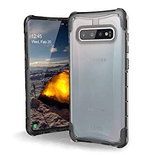 Urban Armor Gear UAG Plyo Rugged Protection Case/Cover Designed for Galaxy S10+ / Galaxy S10 Plus (Military Drop Tested) - Ice
