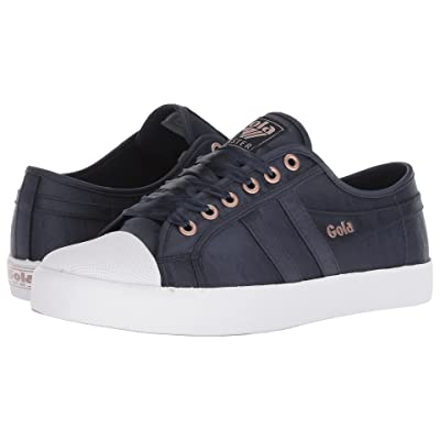 Gola Coaster Satin (Navy/White) Women