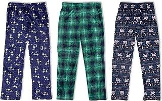 Sleep On It 3-Pack Boys Pajama Pants | Soft Kids Pajama Pants – (3 Pack)