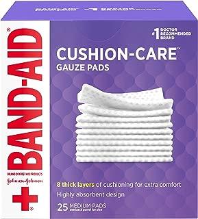 Band-Aid Johnson& Johnson Medium Gauze Pads, 25 Medium Sterile Pads 3 In X 3 In