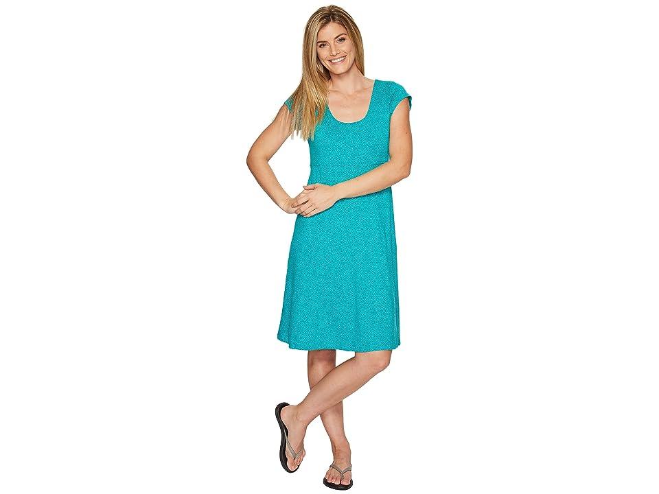 Toad&Co Nena Dress (Turquoise Cove Geo Print) Women